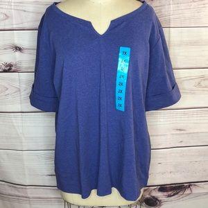 NWT Woman's Ellen Tracy blouse